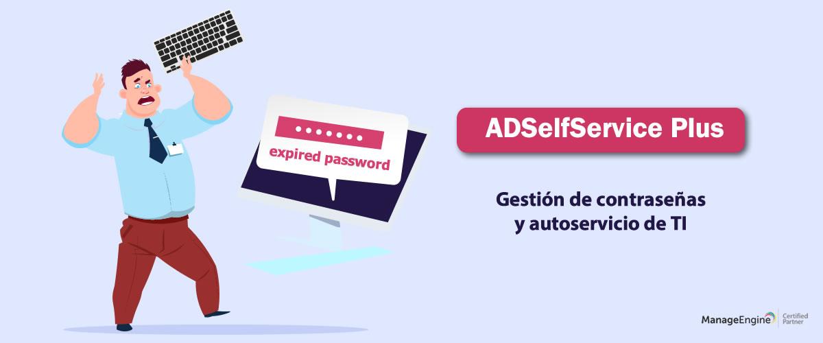 Gestión Active Directory - ADSelfService Plus
