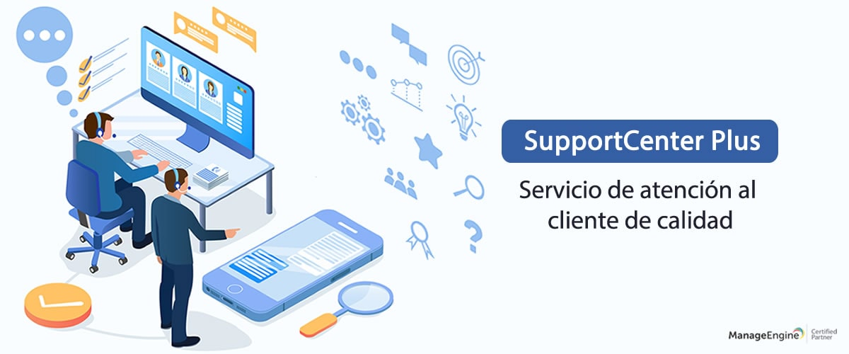 Servicios de TI - SupportCenter Plus